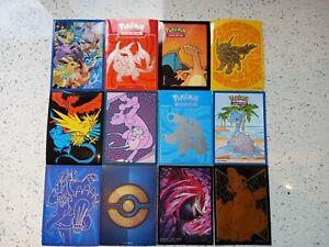 Pokemon Card Sleeves Set J