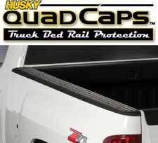 Husky 97101 Quad Caps Bed Rail Protector 2007-2013 Chevy Pickup 6'5'' Bed