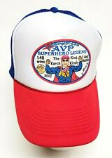 Karch Kiraly AVP Volleyball Superhero Custom Trucker Hat by ivcomics JimmyJ 2007