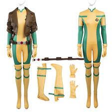 Hot Cakes Original X-men Rogue Cosplay Costume Jumpsuit Cos Coat Custom Size