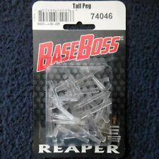 Reaper Bones 74046 Transparent Tall Hover Pegs x25 Flying Plastic Base Flight