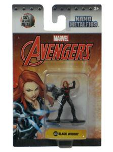 Jada Nano Metalfigs Avengers Black Widow MV12 Marvel Comics New