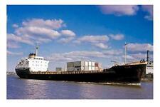 KOORINGA ASP, Melbourne 1st ever Container ship modern digital Photo Postcard