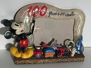 Mickey Mouse Walt Disney 100 Years Of Magic Train Painting Picture Photo Frame
