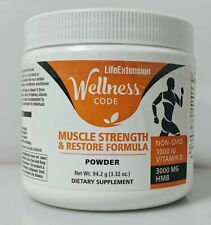 Wellness Code Muscle Strength & Restore Formula, Life Extension, 3.32 oz
