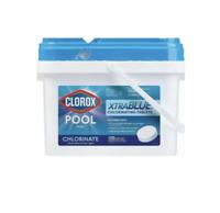 """CLOROX Pool & Spa XtraBlue 3"""" Long Lasting Chlorinating Tablets, 5lb Ships ASAP!"""