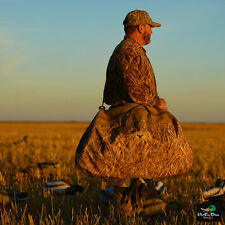 Avery Ghg Goose Silhouette Silo Decoy Satchel Bag Shadow Grass Blades Camo