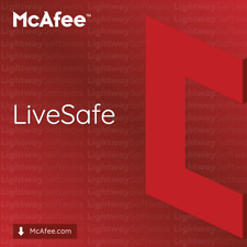 McAfee LiveSafe 2020 - 1 to 5 years (code/key or subscription)