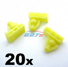 20x Wheel arch surround trim clips for Nissan Juke & X-Trail- Wing moulding clip