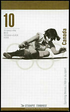 CANADA STAMPS #1612B - CANADIAN OLYMPIC GOLD MEDALISTS (1996) 10 X 45¢ BK192A