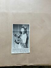 H1-1 ephemera 1967 picture lillian ward beauty queen broadstairs tomson cup