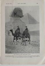 1915 WW1 Aufdruck Australasian Troops Ägypten Pyramiden Kamele Pilgrimage Sich