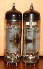 "Balanced Matched Pair Mullard EL84 6BQ5 Vacuum Tubes  ""rx1"""