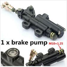 1Pcs Aluminium Black Rear Brake Foot Pump Active Foldable Universal