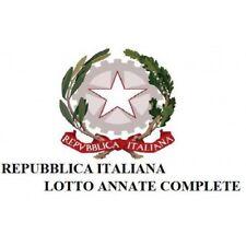 1980 - 1989 ITALIA REPUBBLICA ANNATE COMPLETE NUOVE MF1053