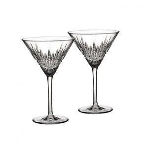 Waterford Crystal : Lismore Diamond Martini (Set of 2)