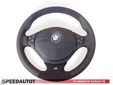 Lederlenkrad BMW E34 E36 E39 mit Airbag NEU LEDERRBEZUG mit ALCANTARA multi 5