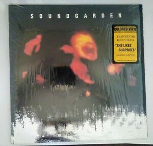 SOUNDGARDEN Superunknown 2xLP clear vinyl original 1994 NM hype sticker shrink