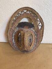 Sbk vintage woven Yam mask #2 Abelam, Papua New Guinea