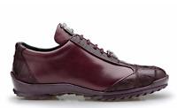 Belvedere Sneakers Paulo Genuine Ostrich  Dark Burgundy 40486