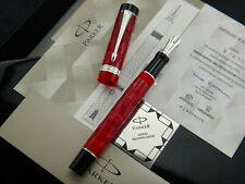 PARKER Duofold Centennial Flame Red DNA WES London 2009 Limited Edition 007/100