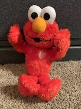Hasbro Sesame Street Elmo Sweet Kisses Talking Plush Stuffed Toy 12""