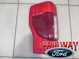 20 thru 21 Super Duty OEM Ford Tail Lamps Light LH Driver LED with Blind Spot