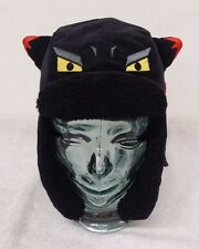 Elstinko Ebony Black Color Kid's Trapper Hat