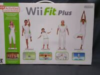 Nintendo Wii Fit Plus with Balance Board | Includes Box Includes Feet & 2 Games