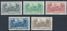ALGERIA 1943 SG206-210 Summer Palace Set Mint MNH