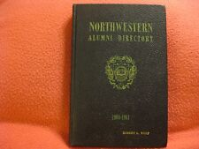 Northwestern University Alumni Directory 1960-1961, Hardcover