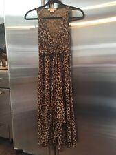 NEW MICHAEL KORS Womens Cheetah Print Sleeveless Dress Size Small