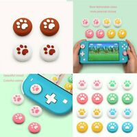 For NS Switch/Lite Cute Cat Paw Thumb Silicone Joystick Protective Caps Covers Y