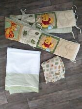 Disney Baby Winnie The Pooh Crib Skirt  Bumper Fitted Sheet Bedding Nursery