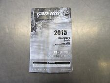 EB221 2015 15 CANAM RENEGADE 1000 OWNERS MANUAL