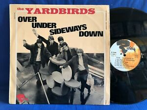 THE YARDBIRDS OVER UNDER RIVIERA 521004 BIEM ORIGINAL FRANCE LP EXC