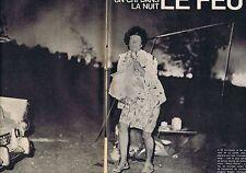 COUPURE DE PRESSE CLIPPING 1966 LE FEU à La Londe les Maures  (8 pages)
