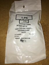 New listing 10Pk Hose Clamp 16Mm Constant Tension Wide-Band Clamp Black Ctb-16St Fk Mcmaster