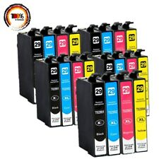 20x XL Druckerpatronen für EPSON XP235 XP245 XP352 XP247 XP255XP257 XP452 XP455