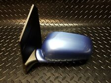 Mitsubishi Space Star 2002 N/S Passenger Side Wing Mirror Blue T79  J85