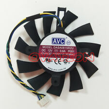 75mm VGA Fan EVGA Nvidia GTS 450 GTX 460 550 560 Video Card AVC DASA0815R2U
