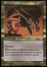 MTG SHIVAN WURM EXC - WURM DI SHIV - PLS - MAGIC