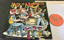 JAZZ O'MANIACS-SWEET MUMTAZ-1st PRESS STOMP OFF 1984 VINYL LP (EX/M-)