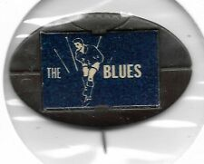 1968 1969 Twisties / Milo Football Emblem Pin CARLTON The Blues (Black)