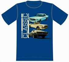 American Classic Ford Mustang T-Shirt * Ships Worldwide & FREE to the USA * RARE