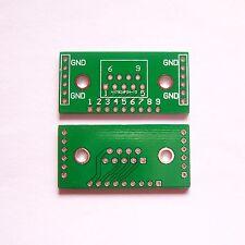 10 PCS D-SUB DB9 DR9 to DIP9 2.54mm UART-RS232 Adapter PCB Board Converter B12