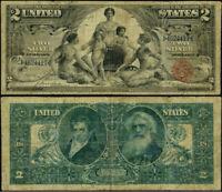 FR. 247 $2 1896 Silver Certificate Fine