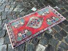 Turkish rug, Vintage rug, Handmade rug, Small rug, Doormats | 1,5 x 3,1 ft