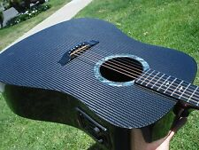 Rainsong DR-1000 Lefty Left Handed Acoustic Electric All Graphite Carbon Fiber