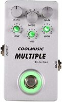 Coolmusic A-MT6 Distortion Effect Pedal w/ 6 Distortion Options Fast U.S.Ship